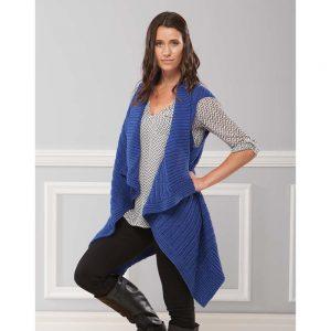Diana Vest Free Download Knit Pattern. Free vest knitting pattern for women.