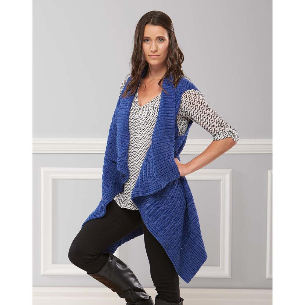 Free Free long vests knitting pattern Patterns ⋆ Knitting Bee (17 ...