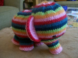 Elephant Knitting Patterns free