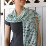 Estilo Hand Dyed Lace Pattern Scarf. Free lace scarf knit pattern free download.