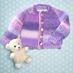 Fingerpaint Cardigan Free Knitting Pattern