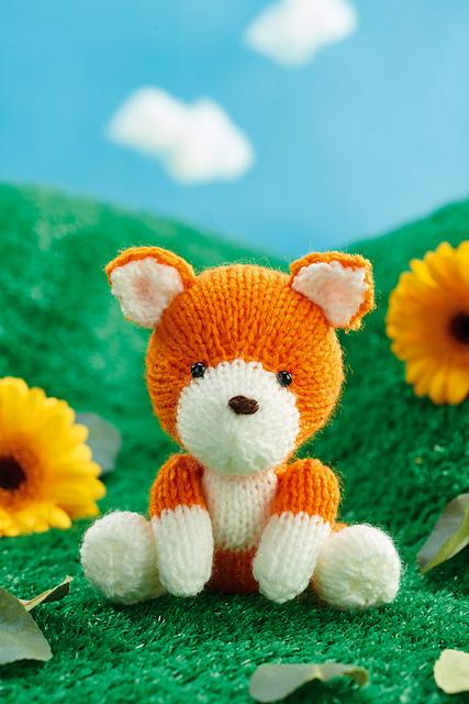 Finley Fox Free Knitting Pattern