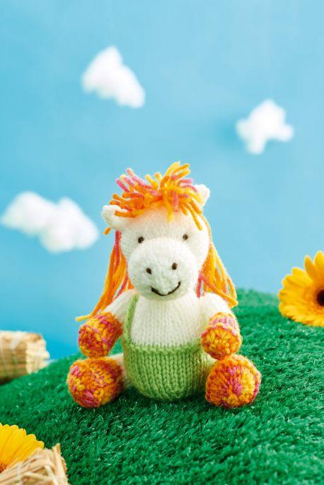 Harriet Horse Free Knitting Pattern