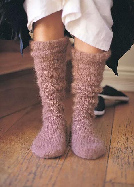 Indulgence Socks Free Knitting Pattern