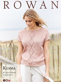 Kiama Free Diamond Panel Top Knitting Pattern Download