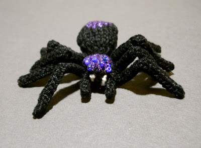 Spider Knitting Pattern : Free free halloween knitting patterns Patterns ? Knitting Bee (52 free knitti...