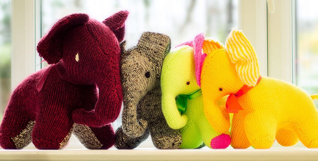 Knit and Elephant Free Knitting Pattern