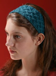Lattice Cable Headband Pattern free knitting pattern