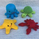 Little Sea Creatures Free Knitting Pattern