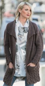 Free Long Cardigan Knitting Patterns