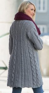 Knitting Pattern For A Long Cardigan : 14 Long Cardigan Knitting Patterns You Wont Believe are Free!
