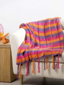 Plaid Baby Blanket Free Knitting Pattern Download. Easy baby blanket knit pattern, striped baby blanket.