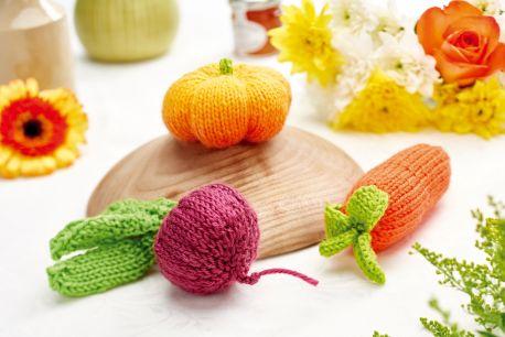 Play Veggies Free Knitting Pattern