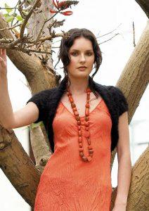 Ribbed Mohair Shrug Free Knitting Pattern Download
