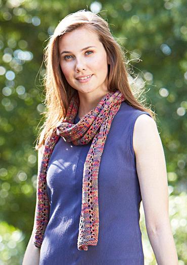 Schal Decorative Crochet Scarf Free Pattern