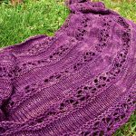 Serenity Free Knitting Pattern. Free knitting pattern for a lace shawl/shrug.