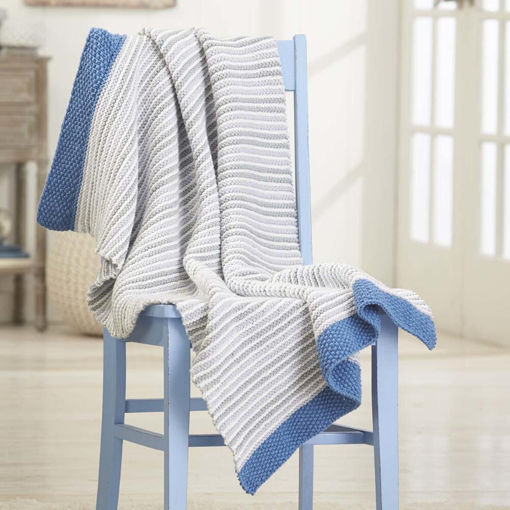 Simply Garter Knit Blanket Free Download. Free knitting pattern for a garter blanket, baby garter knit pattern