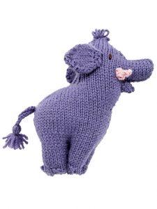 Stuffed elephant knitting pattern