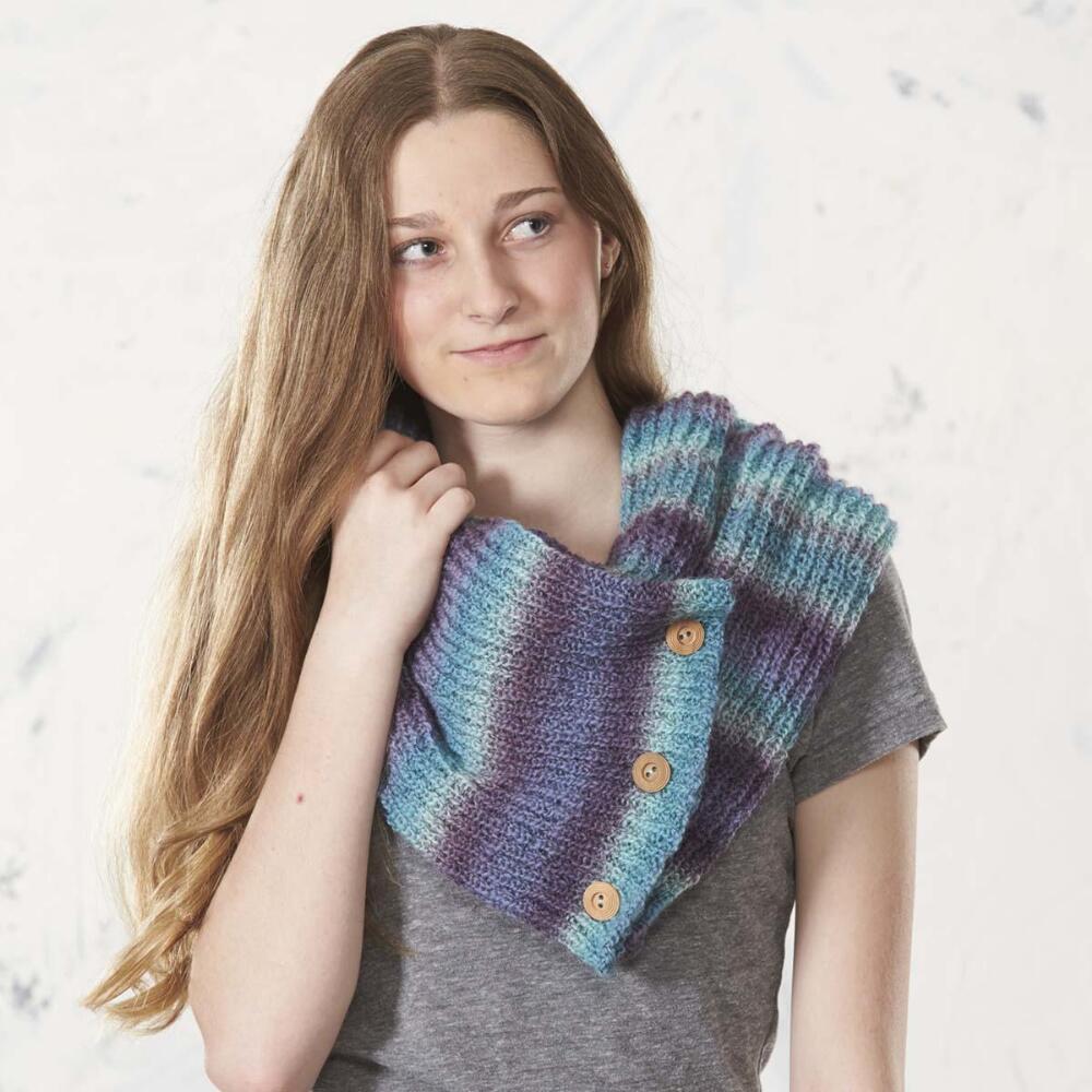 Tanzanite Cowl Free Download Knit Pattern