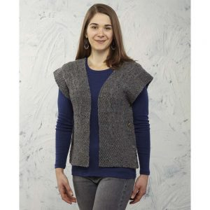 Veronica Ruana Free Download For A Vest Knitting Pattern
