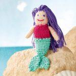 Violet the Mermaid Free Knitting Pattern