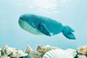 Wendy Whale Free Animal Knitting Pattern. Free whale knitting pattern to download for free!