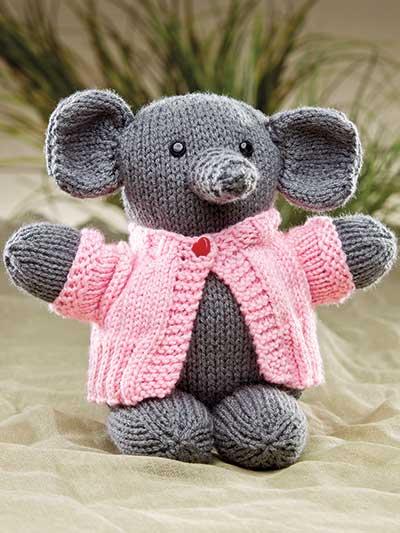 15 Amazing Elephant Knitting Patterns ⋆ Knitting Bee