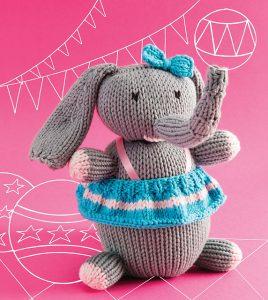 circus elephant knitting pattern