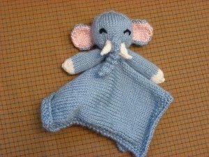free elephant toy knitting pattern