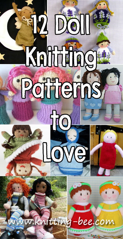 12 Doll Knitting Patterns to Love