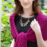 8-Hour Lace Shawl Free Knitting Pattern