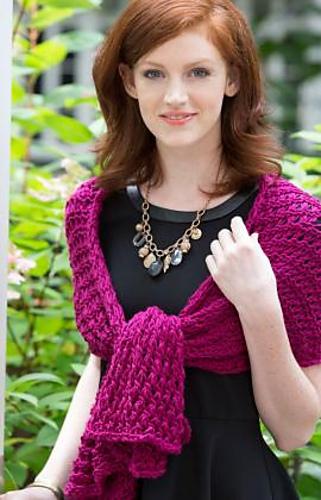 8 Hour Lace Shawl Free Knitting Pattern