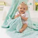 Soft & Snuggly Baby Blanket Free Knitting Pattern