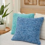 Textured Seed Stitch Pillows Free and Easy Knitting Pattern Download