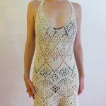 Alize Shetland Lace Beach Dress Free Knitting Pattern