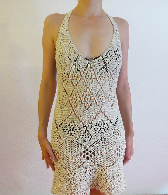 Knitting Patterns Lace Dress : Free free short dress knitting patterns Patterns ? Knitting Bee (16 free knit...