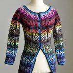 All Colors Sweater Fair Isle Sweater Jacket Free Knitting Pattern