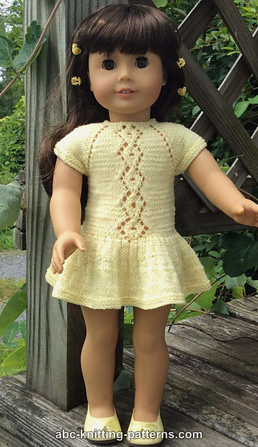Free Free Knitting Patterns For Doll Clothes 18 Ins Patterns