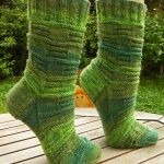Andrea Free Sock Knitting Pattern
