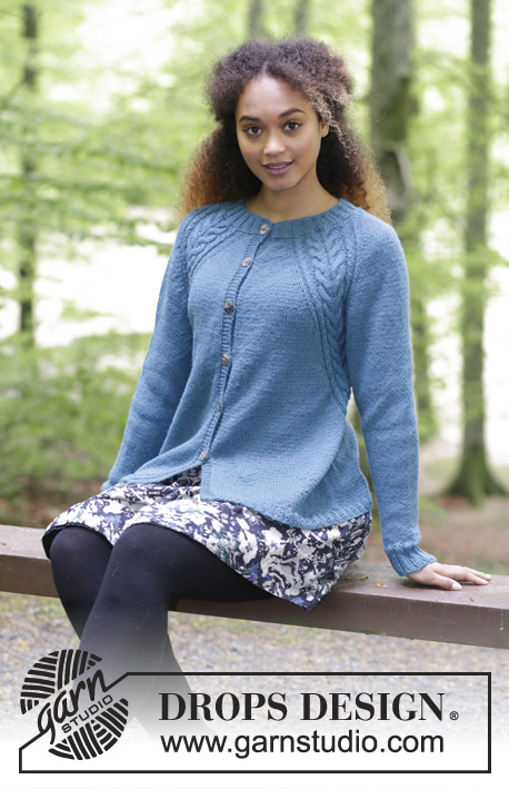 Arendal Free Cardigan Knitting Pattern