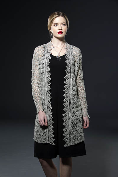 Aria Lace Cardigan Free Knitting Pattern Knitting Bee