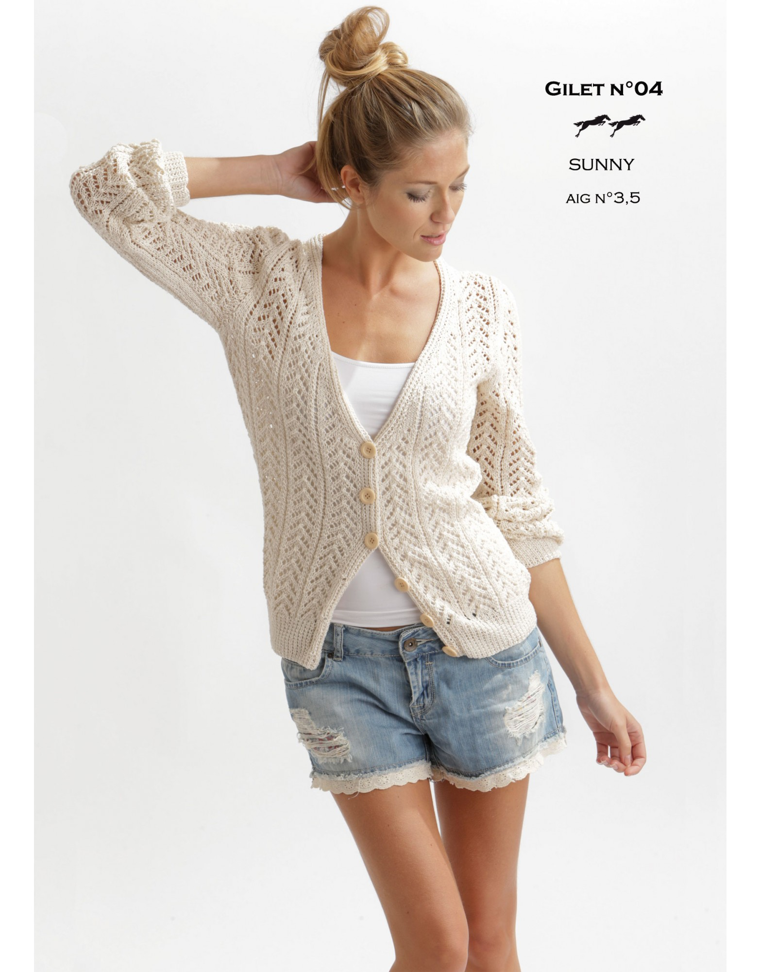 Arrow Lace Cardigan Free Knitting Pattern for Women ⋆ Knitting Bee