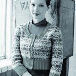 Asbury Fairisle Cropped Cardigan Free Knitting Pattern