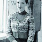 Asbury Fairisle Cropped Cardigan Free Knitting Pattern