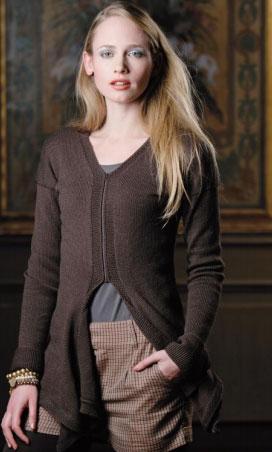 Ashley Women's Cardigan Free Knitting Pattern