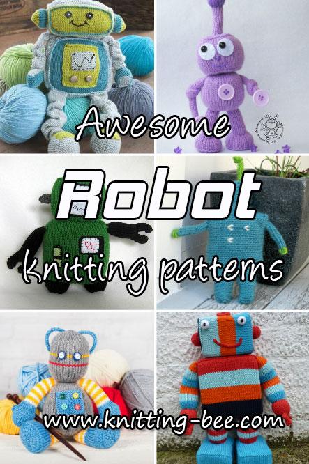 Awesome Robot Knitting Patterns