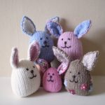 Baby Bunnies Free Toy Knitting Pattern