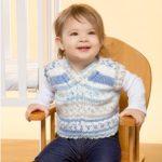 Baby Vest Free Knitting Pattern