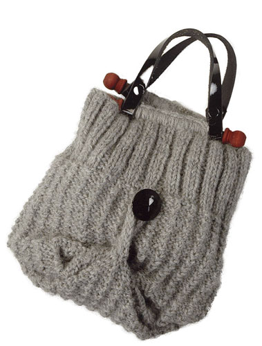 Bagette Bag Free Knitting Pattern