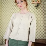 Bay Women's Sweater Free Knitting Pattern